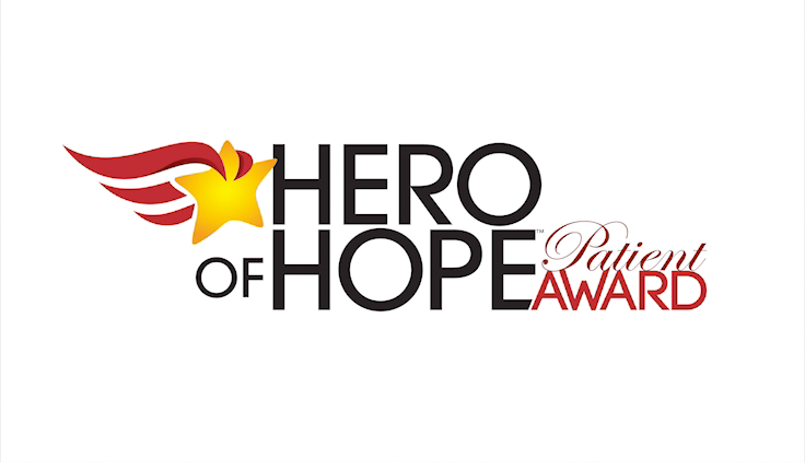The Finalist Hero of Hope Patient Awards: David Caldarella