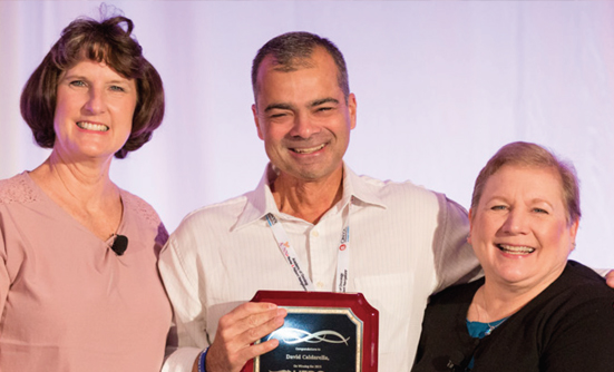 David Caldarella Hero of Hope™ Patient Award Recipient