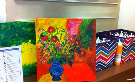 Healing Through Art at St. Vincent Cancer Care Center
