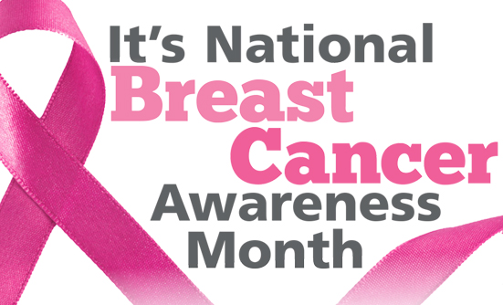 It's National Breast Cancer Awareness Month