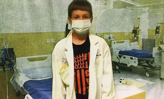 Leukemia Is Shaping My Son's Future