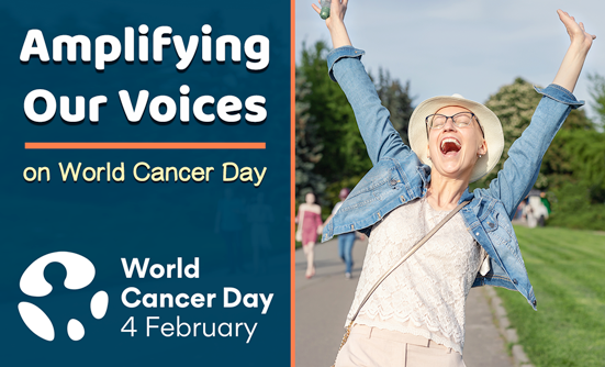 CONQUER: the patient voice Celebrates World Cancer Day