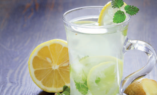 Green Tea Ginger Lemonade