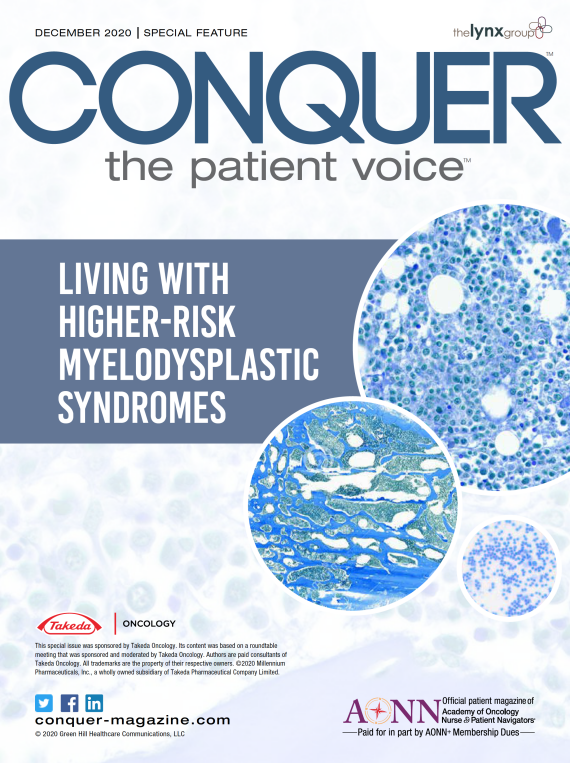 December 2020 – Living with Higher-Risk Myelodysplastic Syndromes