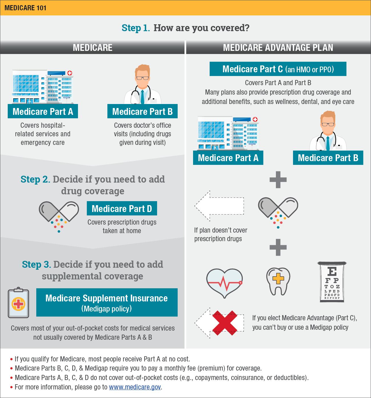 Medicare 101 Infographic