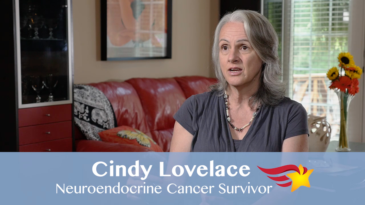 The Finalist Hero of Hope Patient Awards: Cindy Lovelace