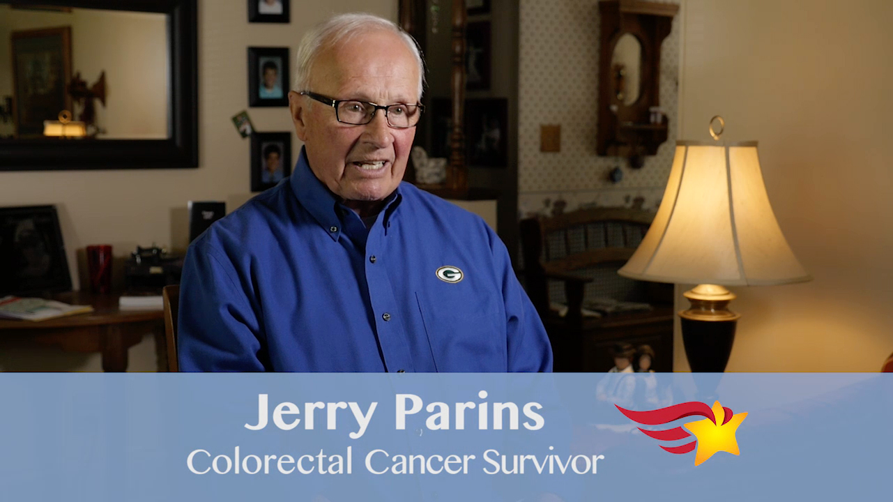 The Finalist Hero of Hope Patient Awards: Jerry Parins