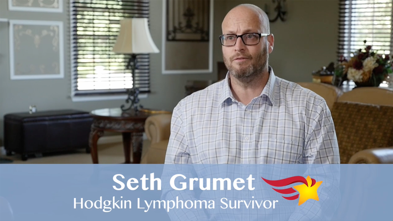 The Finalist Hero of Hope Patient Awards: Seth Grumet