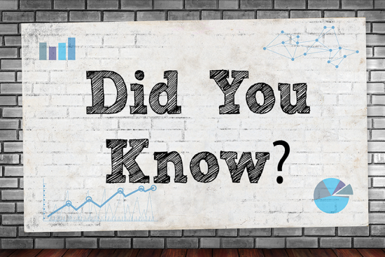 DidYouKnow Horizontal BrickWall